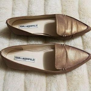 Karl Lagerfeld Glod flats